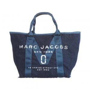 Marc Jacobs New Logo Denim Tote Laukku