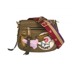Marc Jacobs Nylon Patchwork Small Nomad Saddle Laukku