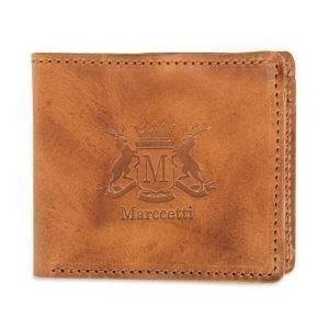 Marccetti Marccetti Carlos Leather Wallet Cognac