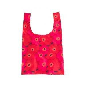 Marimekko Smartbag Mini Unikko Kassi Punainen Tummanpunainen