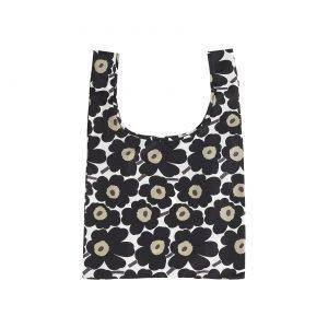 Marimekko Smartbag Mini Unikko Kassi Valkoinen Musta Oliivi