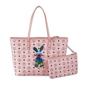 Mcm Rabbit Anya Top Shopper Laukku