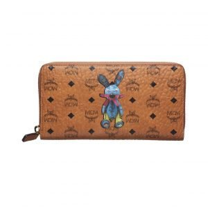 Mcm Rabbit Zip Around Lompakko