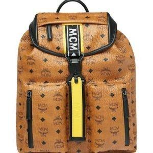 Mcm Raymonde Two Pocket Backpack In Visetos Reppu