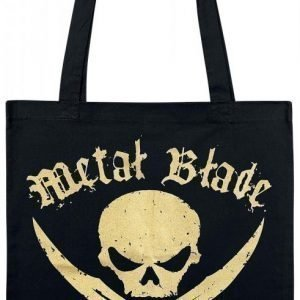 Metal Blade Pirate Golden Logo Kangaskassi