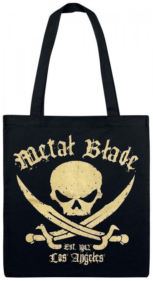 Metal Blade Pirate Golden Logo Kangaskassi