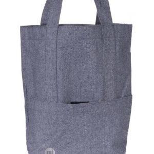 Mi Pac Mi Pac Herringbone Tote Bag 002 Navy