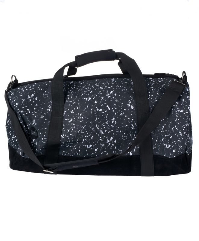 Mi Pac Mi Pac Splattered Duffel A07 Black/White