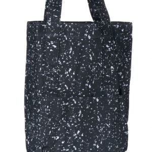 Mi Pac Mi Pac Splattered Tote Bag 004 Black/White