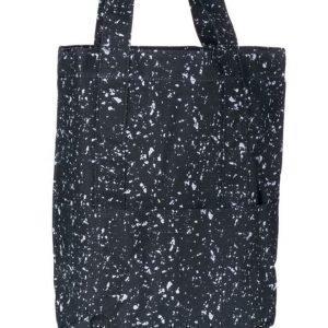 Mi Pac Mi Pac Splattered Tote Bag 004 Black/White