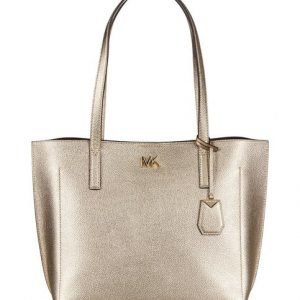 Michael Kors Ana Medium Tote Metallic Nahkalaukku