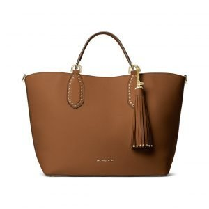 Michael Kors Brooklyn Lg Leather Tote Nahkalaukku