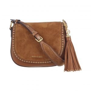 Michael Kors Brooklyn Medium Leather Saddlebag Nahkalaukku