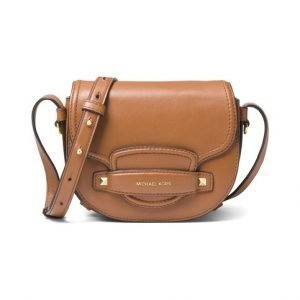 Michael Kors Cary Small Saddle Nahkalaukku