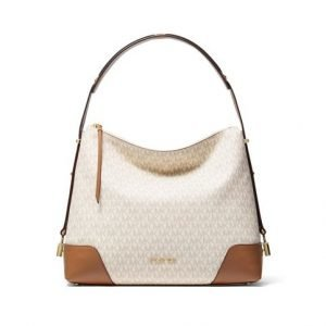 Michael Kors Crosby Large Logo Shoulder Bag Laukku
