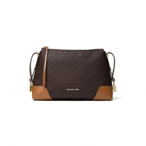 Michael Kors Crosby Medium Logo Messenger Laukku