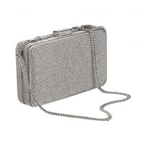 Michael Kors Elsie Crystal Box Clutch Laukku