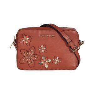Michael Kors Flowers Pouches Md Camera Bag Nahkalaukku