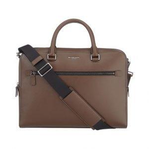Michael Kors Harrison Medium Zip Briefcase Nahkalaukku