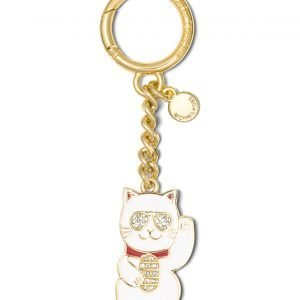 Michael Kors Lucky Charm Welcoming Cat Avaimenperä