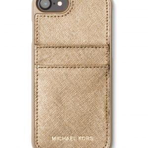 Michael Kors Metallic Saffiano Iphone 7 Suojakuori