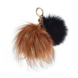 Michael Kors Twin Fur Key Chain Laukkukoru