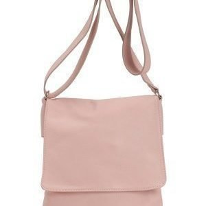 Mixed from Italy Cross Body Leather Bag Pink