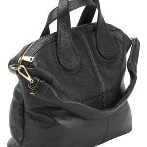 Mixed from Italy Leather Tote Black