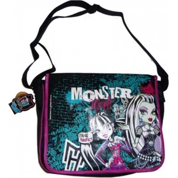 Monster high väska messangerbag Skolväska - Laukkukauppa24.fi 7f212d1f4e351