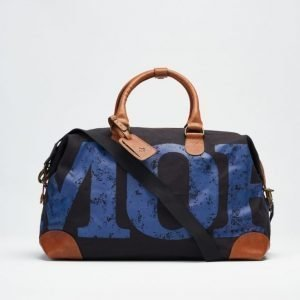 Morris Morris Morris Canvas Bag Navy