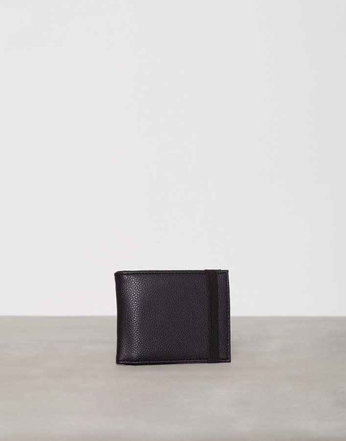 New Look Elasticated Wallet Lompakko Musta