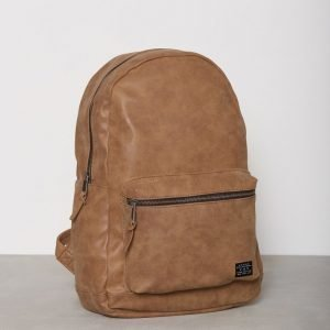 New Look Pu Back Pack Reppu Tan