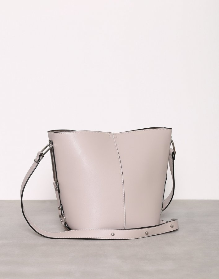 New Look Sleek Bucket Bag Olkalaukku Stone