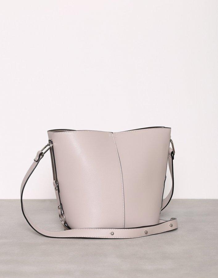 New Look Sleek Bucket Bag Olkalaukku Stone