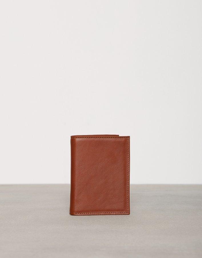 New Look Tri Fold Wallet Lompakko Tan