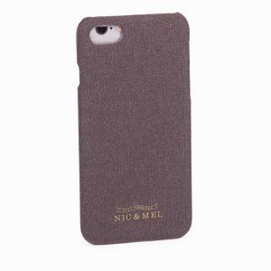 Nic & Mel Neil hardcase iPhone 7 Puhelimen suojakuori Anthracite