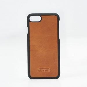 Nic & Mel Nic & Mel Charles Hardcase iPhone 7 85 Cognac