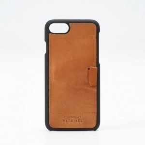Nic & Mel Nic & Mel Floyd Hardcase iPhone 7 85 Cognac