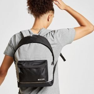 Nicce Nate Reflective Backpack Reppu Hopea