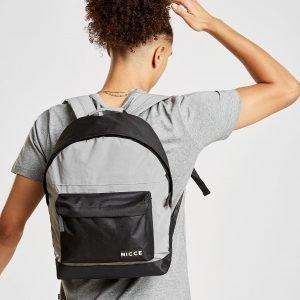 Nicce Nate Reflective Backpack Reppu Hopea