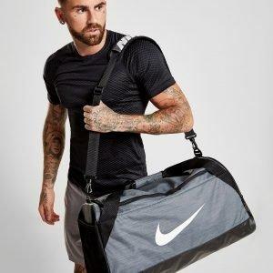 Nike Brasilia Medium Duffle Bag Treenikassi Harmaa