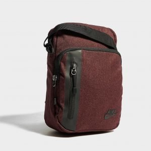 Nike Core Small Crossbody Bag Olkalaukku Burgundy / Black