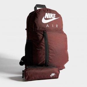 Nike Elemental Backpack Reppu Burgundy / White