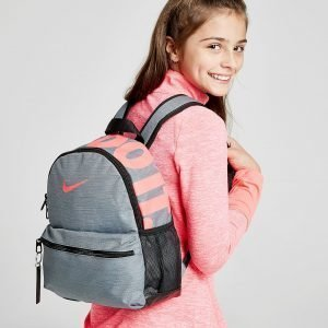 Nike Just Do It Mini Backpack Reppu Harmaa