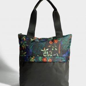 Nike Radiate Flower Tote Bag Urheilulaukku Musta