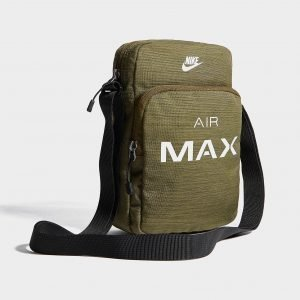 Nike Small Air Max Bag Olkalaukku Olive / Silver / Black