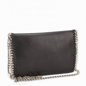 Nly Accessories Crossover Chain Bag Laukku Musta / Hopea