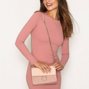 Nly Accessories Ring Shoulder Bag Olkalaukku Dusty Pink