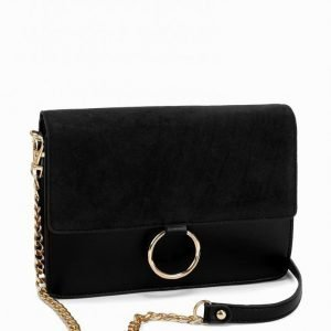 Nly Accessories Ring Shoulder Bag Olkalaukku Musta