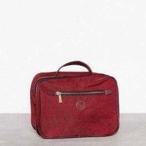 Nypd Cosmetic Bag Toilettilaukku Punainen
